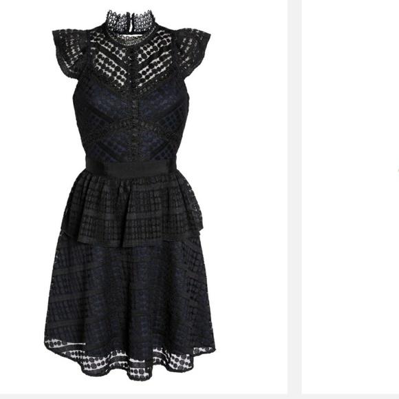 chelsea 28 Dresses & Skirts - Chelsea 28 dress black lace